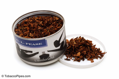 G. L. Pease Cumberland 2oz Pipe Tobacco Open