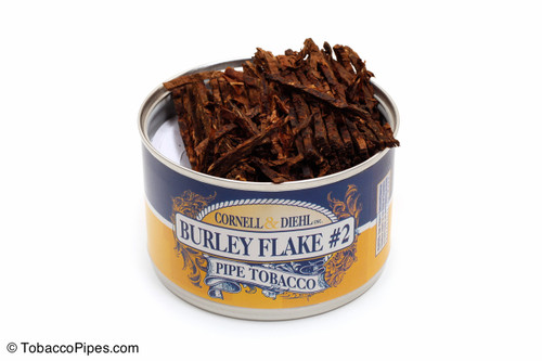 Cornell & Diehl Burley Flake #2 2oz Pipe Tobacco Open