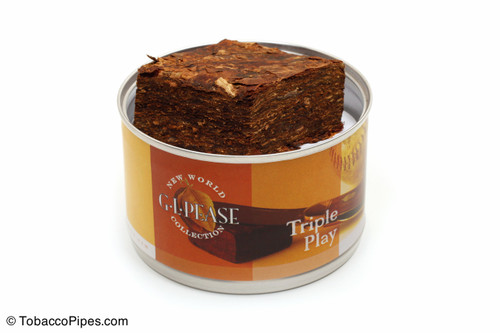 G. L. Pease Triple Play 2oz Pipe Tobacco Open