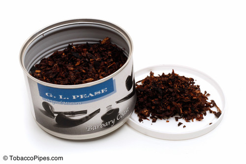 G. L. Pease Barbary Coast 2oz Pipe Tobacco Open