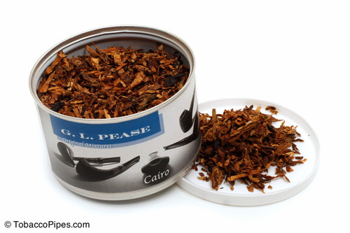 G. L. Pease Cairo 2oz Pipe Tobacco Open