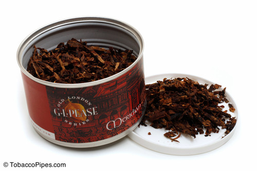 G. L. Pease Meridian 2oz Pipe Tobacco Open