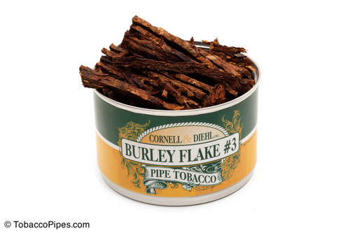 Cornell & Diehl Burley Flake #3 2oz Pipe Tobacco Open