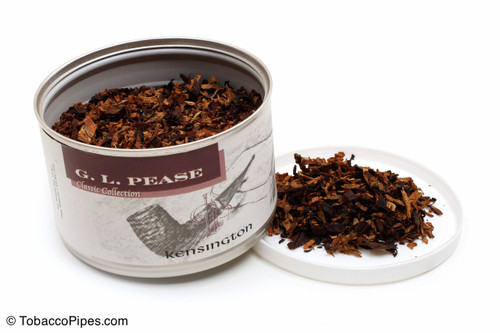 G. L. Pease Kensington 2oz Pipe Tobacco Open