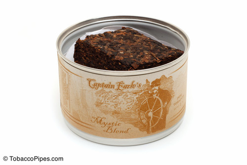 Captain Earle's Mystic Blend 2oz Pipe Tobacco Open