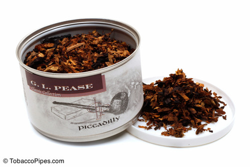 G. L. Pease Piccadilly 2oz Pipe Tobacco Open