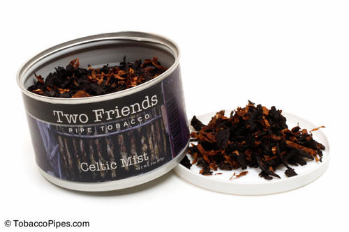 Two Friends Celtic Mist 2oz Pipe Tobacco Open