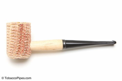 Missouri Meerschaum Missouri Pride Corncob Tobacco Pipe Straight Left Side