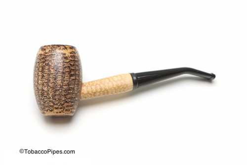 Missouri Meerschaum Country Gentleman Corncob Tobacco Pipe Bent Left Side