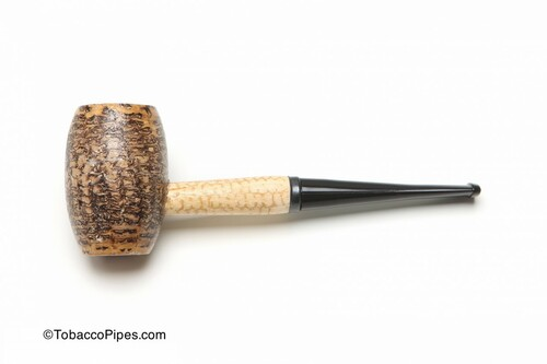Missouri Meerschaum Country Gentleman Corncob Tobacco Pipe Straight Left Side