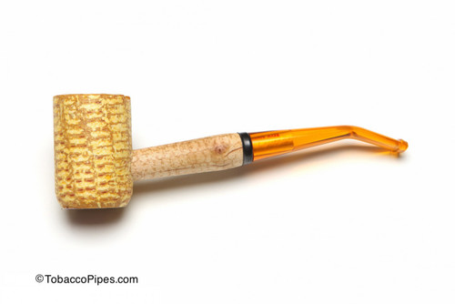 Missouri Meerschaum Legend Corncob Tobacco Pipe Bent Left Side