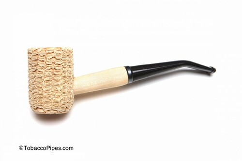 Missouri Meerschaum Missouri Pride Corncob Tobacco Pipe Bent Left Side