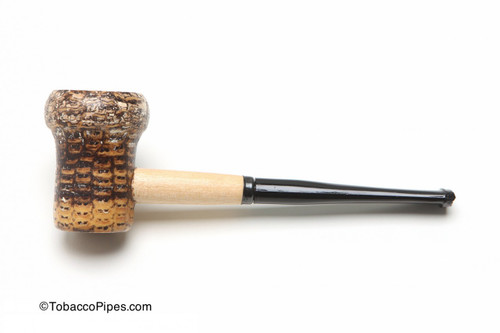 Missouri Meerschaum Patriot Corncob Tobacco Pipe Straight Left Side