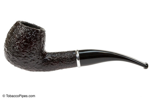 Savinelli Arcobaleno 626 Brown Tobacco Pipe - Rustic Left Side