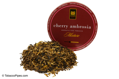 Mac Baren Cherry Ambrosia Aromatic Pipe Tobacco Mixture
