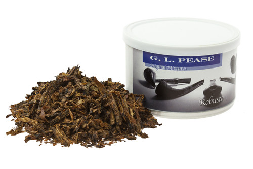 G L Pease Robusto Pipe Tobacco - 2 oz.
