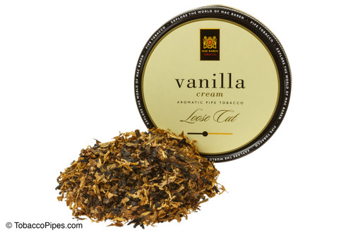 Mac Baren Vanilla Cream Pipe Tobacco 3.5 oz - Loose Cut