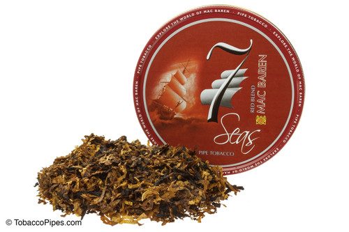 Mac Baren Seven Seas Red Blend Pipe Tobacco - 3.5 oz