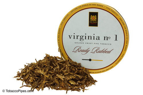 Mac Baren Virginia No. 1 Pipe Tobacco 3.5 oz. - Ready Rubbed