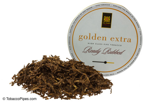 Mac Baren Golden Extra Pipe Tobacco 3.5 oz. - Ready Rubbed
