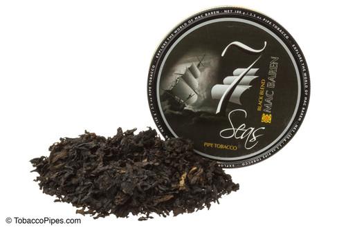 Mac Baren Seven Seas Black Blend Pipe Tobacco - 3.5 oz