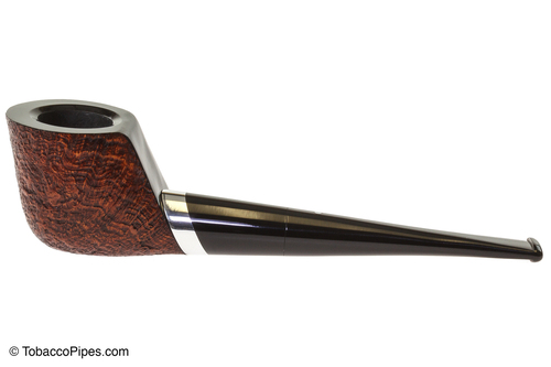 Vauen Caro 3 Tobacco Pipe - Rusticated Left SIde