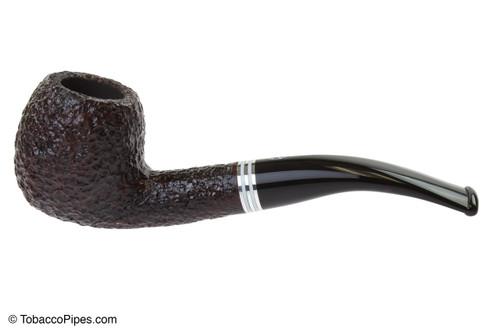 Savinelli Bianca 626 Tobacco Pipe - Rusticated Left Side