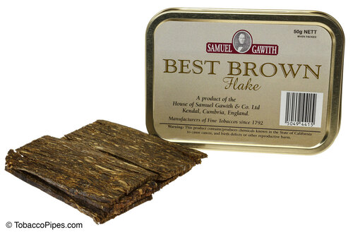 Samuel Gawith Best Brown Flake Pipe Tobacco Tin - 50g