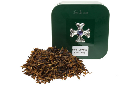 Sillem's Green Pipe Tobacco Tin - 100g
