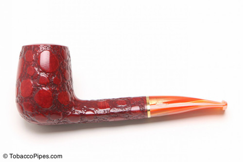 Savinelli Alligator Red 707R Tobacco Pipe Left Side