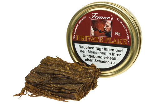 Former's Private Flake Pipe Tobacco Tin - 50g