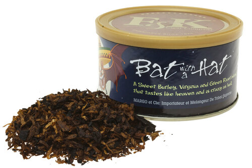 F & K Bat with a Hat Pipe Tobacco Tin - 1.5 oz