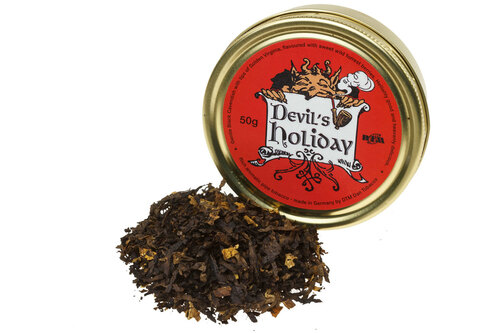 Dan Tobacco Devil's Holiday Pipe Tobacco - 50g