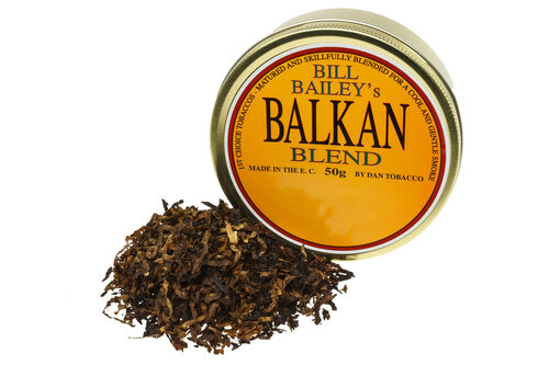Dan Tobacco Bill Bailey's Balkan Blend Pipe Tobacco - 50g