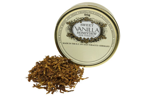 Dan Tobacco Sweet Vanilla Honeydew Pipe Tobacco - 50g