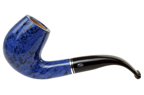 Chacom Atlas Blue 851 Tobacco Pipe Left Side