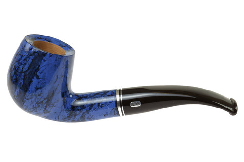 Chacom Atlas Blue 268 Tobacco Pipe Left Side