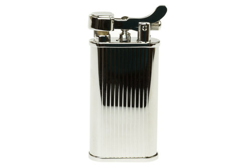 Kabuto Mizo Silver Pipe Lighter Front