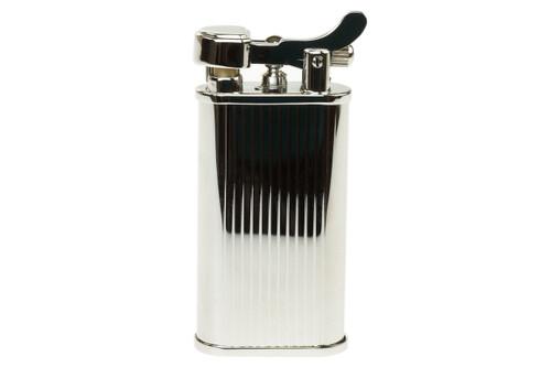 Kabuto Mizo Silver Pipe Lighter Front
