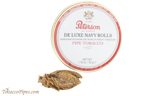 Peterson Navy Rolls Pipe Tobacco Tin