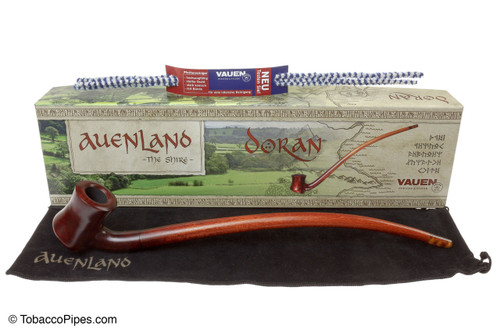 Vauen Auenland Doran Churchwarden Tobacco Pipe - Smooth
