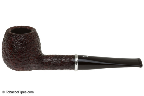 Savinelli Arcobaleno 207 Red Tobacco Pipe - Rustic Left Side
