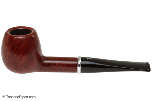 Savinelli Arcobaleno 207 Red Tobacco Pipe - Smooth Left Side