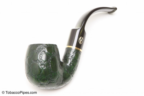 Savinelli Alligator Green 614V Tobacco Pipe Left Side