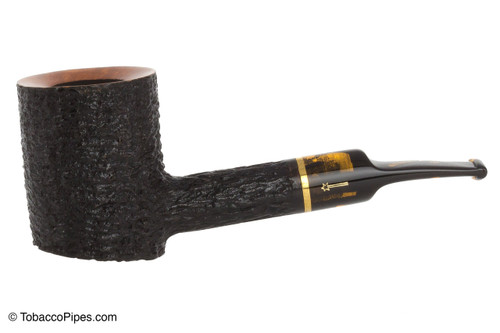 Savinelli Oscar Tiger 311 KS Tobacco Pipe - Rustic Left Side