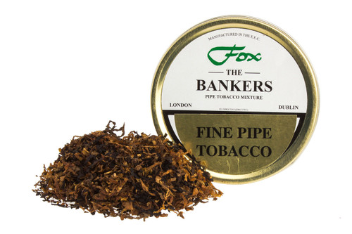 J.J. Fox The Bankers Blend Pipe Tobacco Tin - 50g
