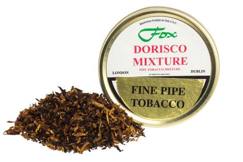 J.J. Fox Dorisco Mixture Pipe Tobacco Tin - 50g