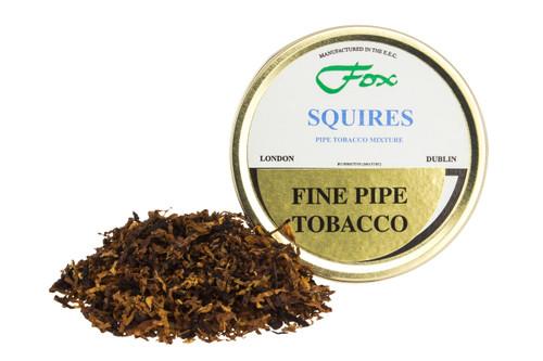 J.J. Fox Squires Mixture Pipe Tobacco Tin - 50g