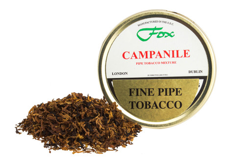 J.J. Fox Campanile Mixture Pipe Tobacco Tin - 50g