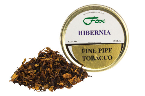 J.J. Fox Hibernia Pipe Tobacco Tin - 50g